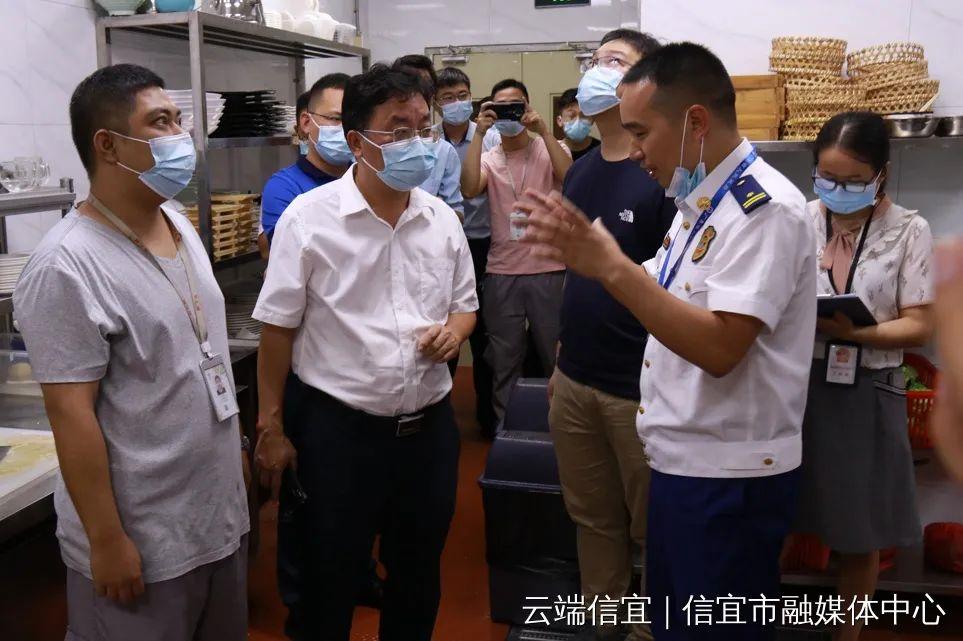 信宜市委副书记、代理市长李龙飞带队开展节前安全生产检查